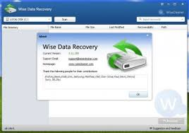 Wise Data Recovery Serial key