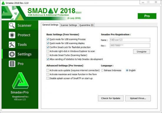 Smadav.Pro.2020 serial keys