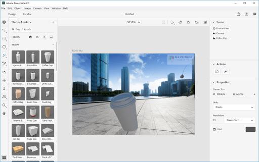Adobe Dimension CC keygen