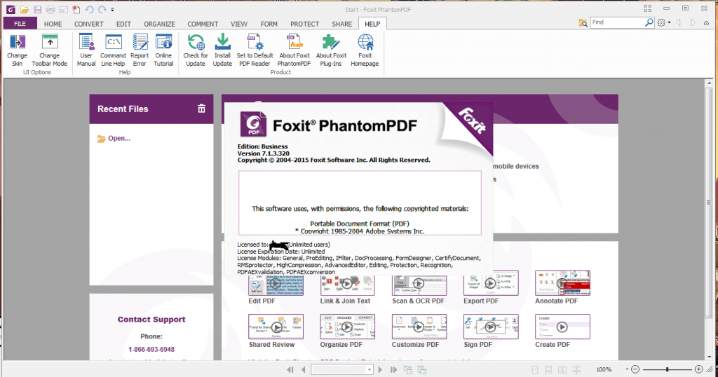 Foxit PhantomPDF Business with Patch Full Version